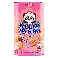 Hello Panda  Crema Fresa CHURRUCA 10 Unid
