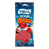 Lanzas Regaliz Pica Fresa VIDAL 100 Gr