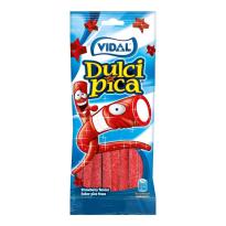 Dulcipica Regaliz Pica Fresa VIDAL 100 Gr
