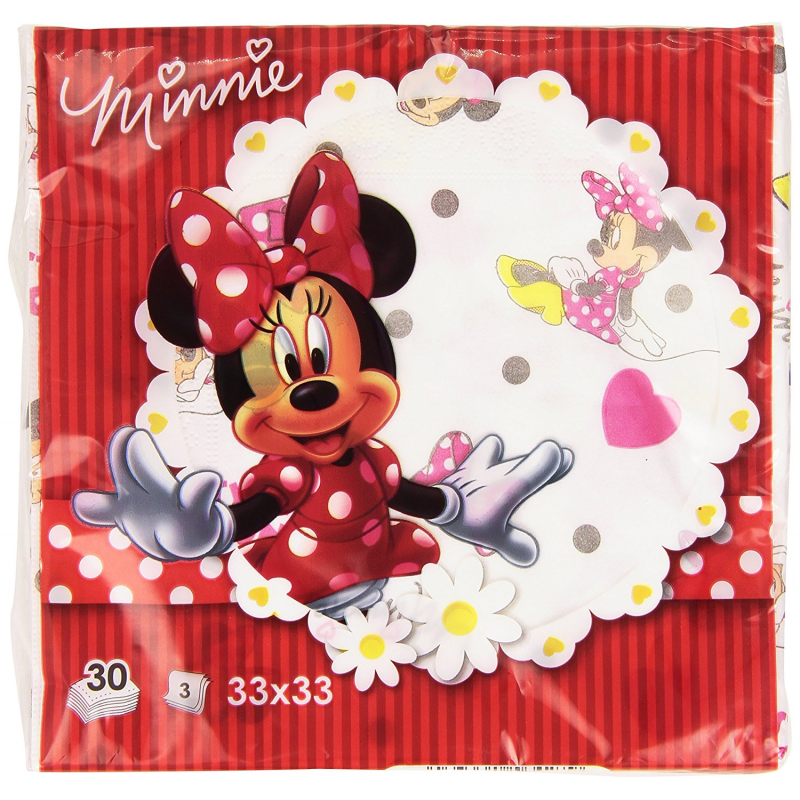 Servilletas Minnie Mouse Disney 30 Unid