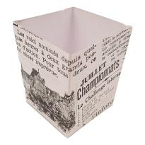 Envase Cartón Buñuelos 25 Unid