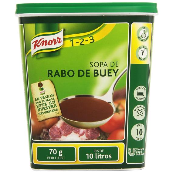 Sopa de Rabo de Buey KNORR 700 Gr