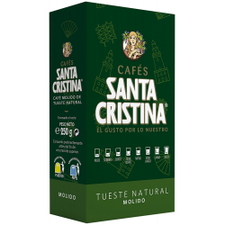 Café Molido Tueste Natural  SANTA CRISTINA 250 Gr
