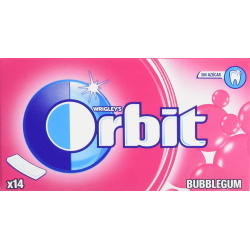 ORBIT Tabs Bubblegum 12 Unid
