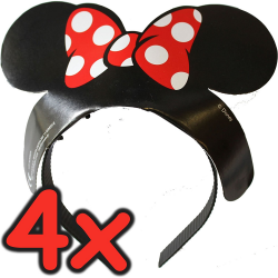 Tiara Minnie Mouse  Pack 4