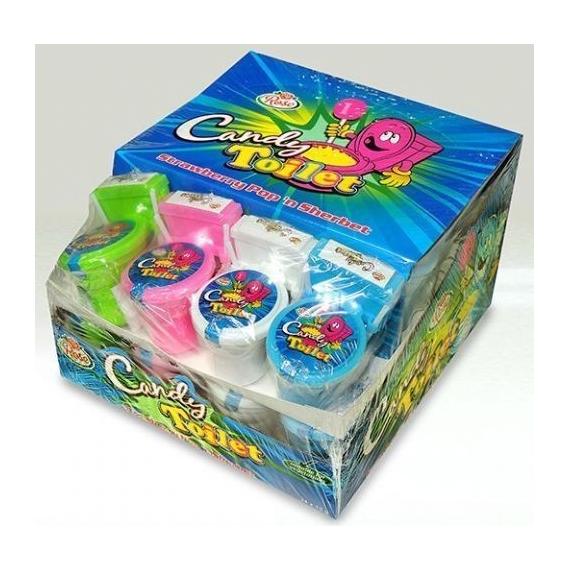 Candy Toilet Pica Pica FANTASY TOYS 24 Unid