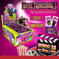 Chicles HOTEL TRANSYLVANIA 3 Vidal 200 Unid