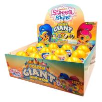 Shimmer and Shine Golden Giant Surprise Egg Huevo Sorpresa Oro 12 Unid