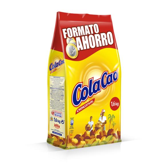 ColaCao Original Cacao soluble  Ecobolsa 1200 Gr