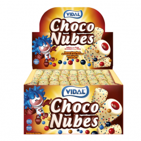 Choco  Nubes rellenas VIDAL 75 Unid
