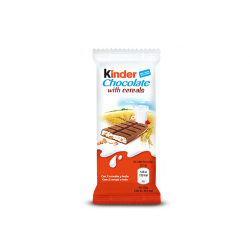 Kinder Snack Chocolate con Cereales 40 Unid
