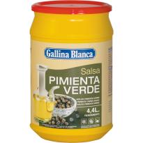 Salsa Pimienta Verde  GALLINA BLANCA 600 Gr