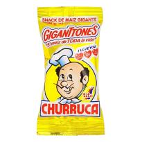 Gigantones Snack de maíz gigante Churruca 20 unidades