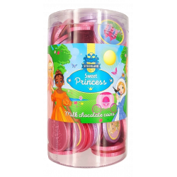Monedas Chocolate SWEET PRINCESS 550 Gr