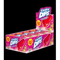 Crazy Dips Fresa CHUPA CHUPS  24 Unid