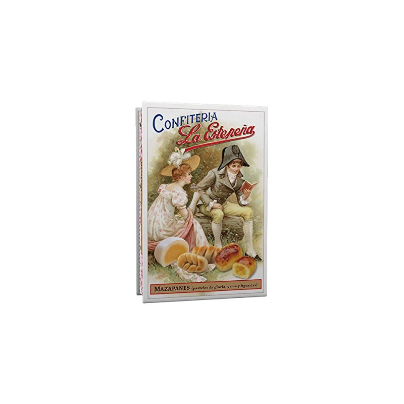 Mazapanes (pasteles de gloria, yema y figuritas) LA ESTEPEÑA 330 Gr