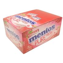 Mentos Pure Fresh Gum FRESA 150 Unid