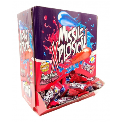 Missile Explosion Chicle Pintalenguas FINI 200 Unid