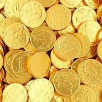 Monedas  Chocolate con Leche SIMÓN COLL 300 Unid