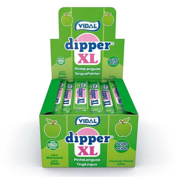 DIPPER XL Manzana Pintalenguas VIDAL 100 Unid