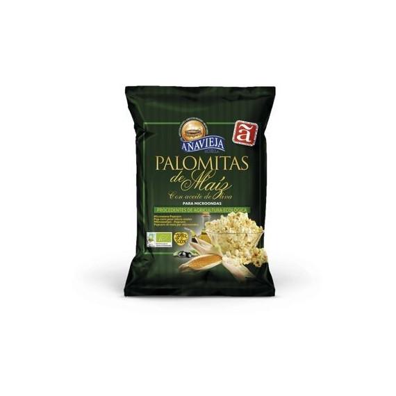 Palomitas de Maíz Ecológicas con aceite de oliva para microondas