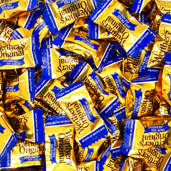 Werther'S Original - Caramelos clásicos de nata - Sin azúcar
