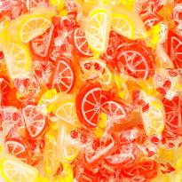 Gajos de naranja y limón Santos