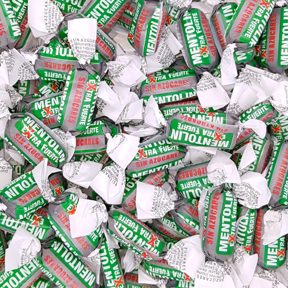 Mentolín Extra Fuerte Sin azúcar 1 Kg