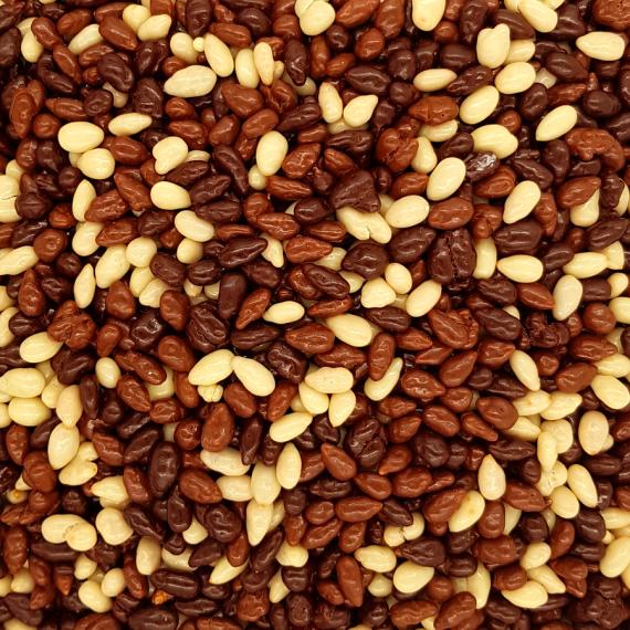 Bombón Mix Pipas con 3 chocolates 1 Kg
