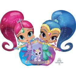 SHIMMER AND SHINE AirWalkers Globo Gigante
