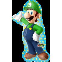 LUIGI Nintendo  Globo Metálico