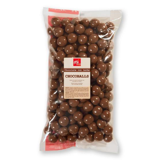 Chocoballs con chocolate suizo