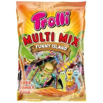 TROLLI Multi Mix Funny Island 500 Gr Surtido Fiesta