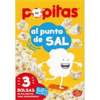 Popitas AL PUNTO DE SAL Pack 12 Unid