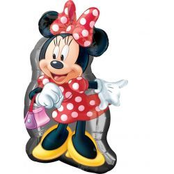 Minnie Mouse Figura Disney Globo Formas