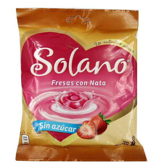Corazón de Solano - Fresas con Nata 99 Gr