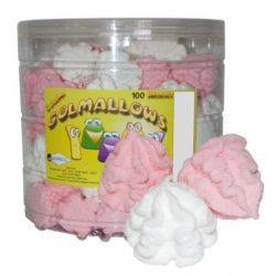 Merengue Marshmallows Rosa Blanco GOLMASA 100 Unid
