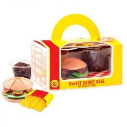 Sweet Candy Deal Burger Patatas y Refresco Cola CHUPA CHUPS 280Gr