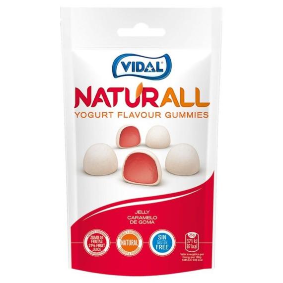 Gomas sabor Yogurt  Naturall VIDAL 180 Gr