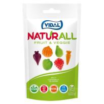 Fruit & Veggie Frutitas y Verduras   Naturall VIDAL 180 Gr