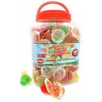 Tarrinas Jelly Frutas Sin Azúcar  GERIO 150 Unid