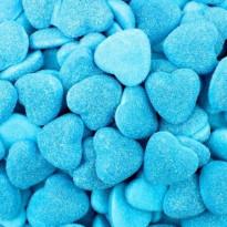 Shiny blue Hearts Corazones Pica Azul Rellenolas 125 Unid VIDAL