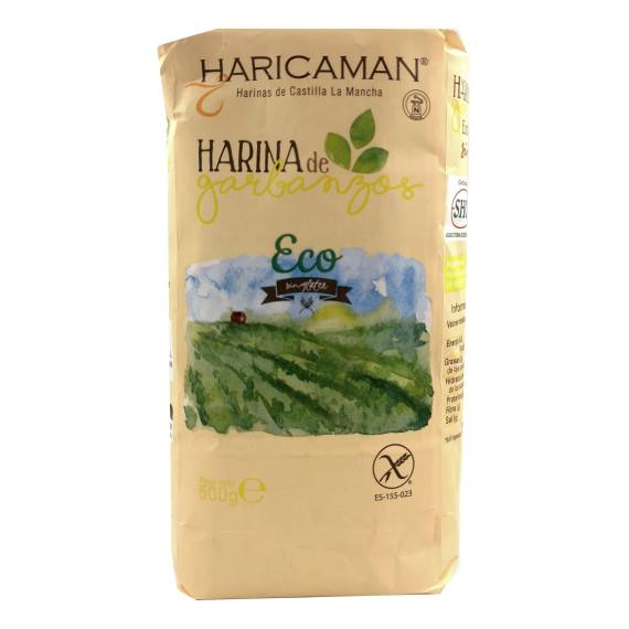 Harina de Garbanzos  Bio Ecológica 500 Gr