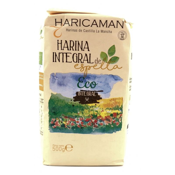 Harina Integral de Espelta  Bio Ecológica 500 Gr
