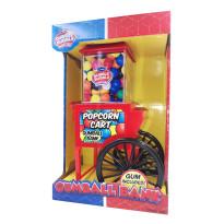 DUBBLE BUBBLE Máquina Hucha Expendedora POPCORN + 50 gr chicles