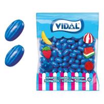 Frambuesas Melón Azul Chicle VIDAL 250 Unid