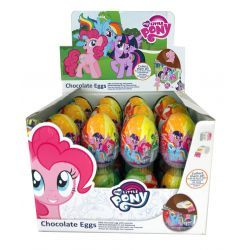 My Little Pony Huevos de Chocolate con Sorpresa  24 Unid