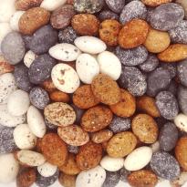 Piedras de Río Caramelo Duro 1 Kg