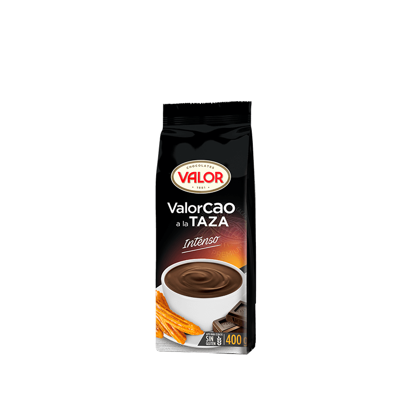 Valor Cao Chocolate a la Taza Intenso 400 Gr