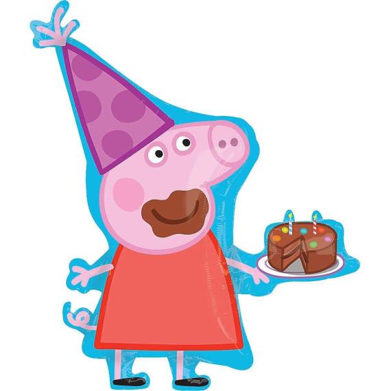 Peppa Pig Tarta   Globo Grande